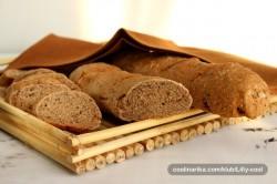 Příprava receptu Domácí celozrnné bagety bez kvásku nebo droždí, krok 1