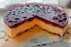Příprava receptu Nepečený tvarohový dort bez mouky, krok 9