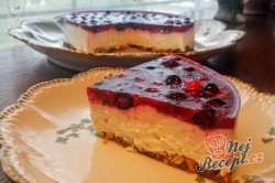 Příprava receptu Nepečený tvarohový dort bez mouky, krok 10