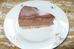 Příprava receptu Čokoládový cheesecake s mascarpone, krok 2