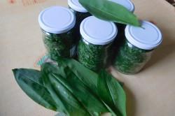 Příprava receptu Medvědí česnek - na uskladnění, krok 1