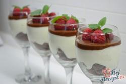 Příprava receptu Míša pohár s malinami, krok 9