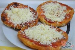 Příprava receptu Langoše z bramborového těsta, krok 5