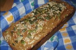 Příprava receptu Celozrnný chlebíček, krok 2