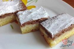 Příprava receptu Pudinkový koláč den a noc s jablky, krok 4