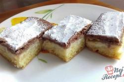 Příprava receptu Pudinkový koláč den a noc s jablky, krok 5